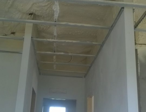 Isolamento soffitto e controsoffitto